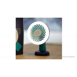 2-in-1 USB Rechargeable Pocket Fan + LED Night Light