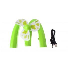 "Creative ""M"" Shaped Mini Rechargeble Cooling Fan"
